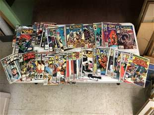 95 ISSUES MARVEL CONAN THE DESTROYER & THE KING & MORE.
