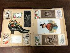 (2) WONDERFUL VICTORIAN TRADE CARD ALBUMS, WITH SOME