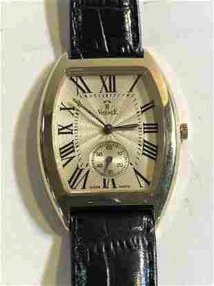 VICENCE MILOR 585 (14K) MENS WRISTWATCH, MADEIN ITALY,