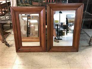 (2) PINE OGEE MIRRORS, FROM ESTATE IN PROVIDENCE RHODE