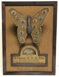 VERY RARE ATTRACTO MECHANICAL STORE DISPLAY FOR