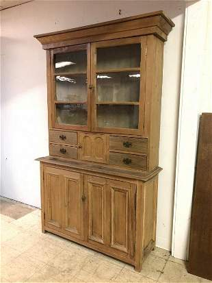 COUNTRY 2 PC PINE CABINET FROM BROOKLYN NY ESTATE WE