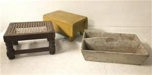 (3) PC. HUDSON VALLEY ESTATE LOT, INCLUDES CANED FOOT