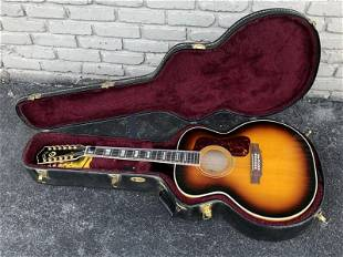 GUILD F 412 ACOUSTIC GUITAR, FROM LOCAL ESTATE OF A