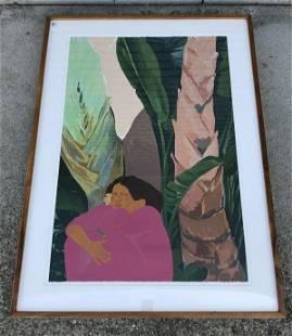 PEGGE HOPPER OKAPAKA KAUAI 1989, SERIGRAPH NUMBER 63 OF