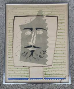 PABLO PICASSO (1881-1973) PENCIL SIGNED PRINT, NUMBER