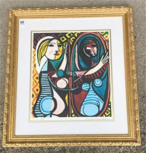 PABLO PICASSO (1881-1973) PRINT, COLLECTION OF DOMAINE
