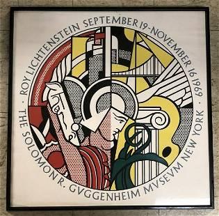 ROY LICHTENSTEIN 1969 GUGGENHEIM MUSEUM NEW YORK