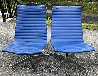 PR. EAMES DESIGN HERMAN MILLER MID CENTURY CHAIRS, FROM