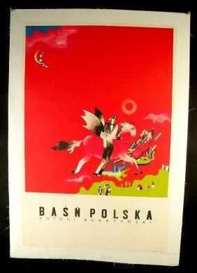20: VINTAGE POSTER-POLISH POSTER, CIRCA 1965