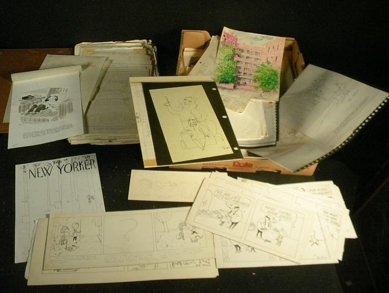 89: Ed Arno Cartoonist Archives Of  Work From NYC Estat