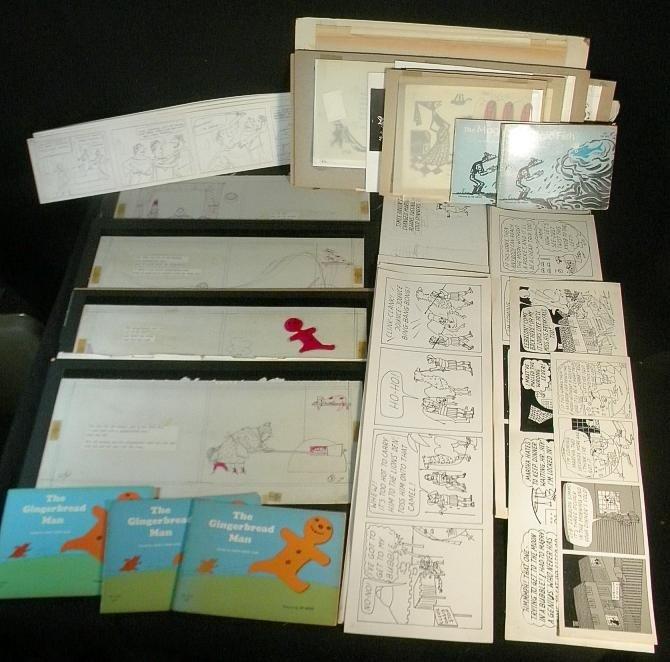 90: Ed Arno Original Storybook Illustrations Estate Arc