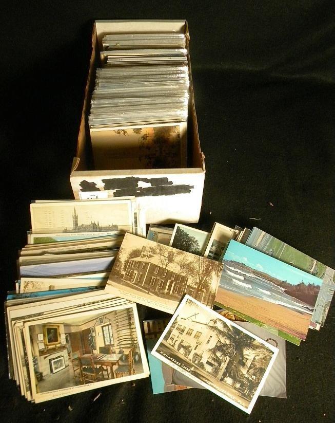 14: POSTCARDS OLDER BOXLOT UNITED STATES TOPIC