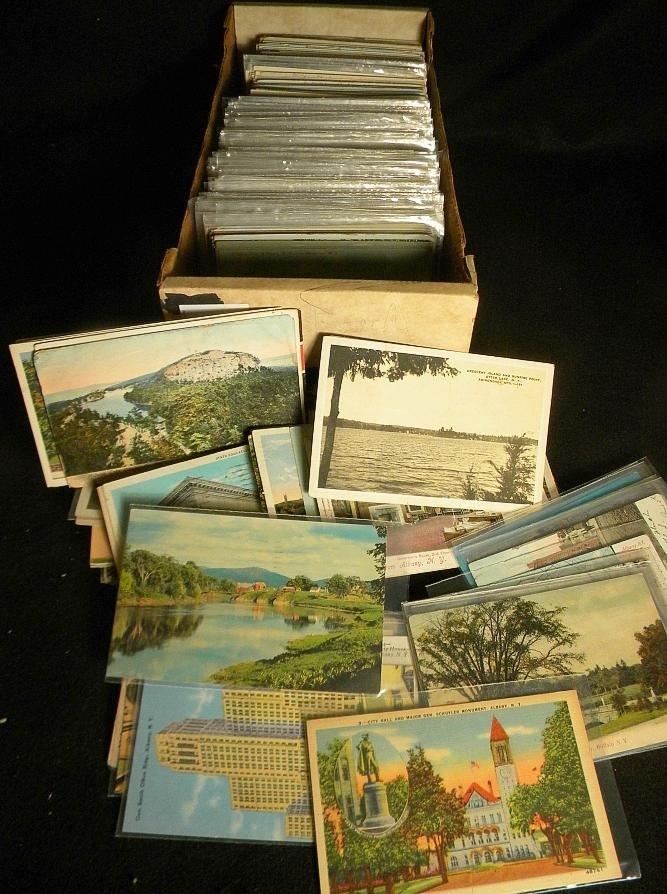 16: POSTCARDS BIG BOX OLDER NEW YORK STATE VIEWS