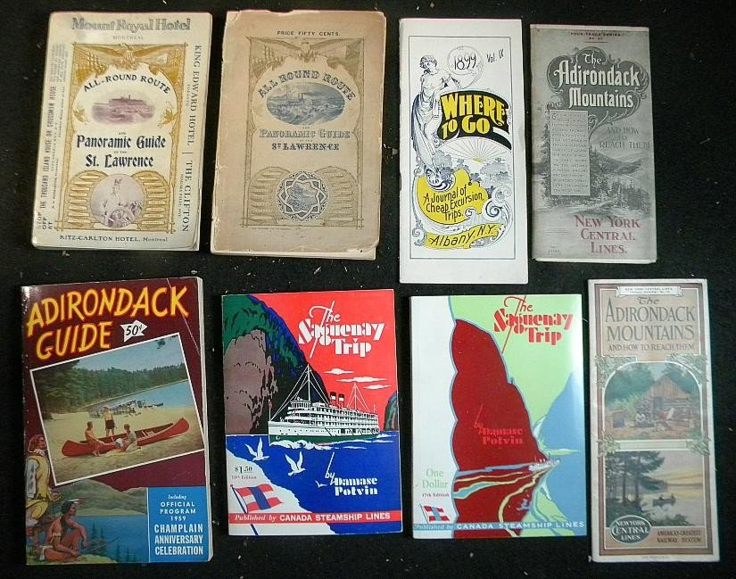 40: Lot of Early Travel Books and Brochures
