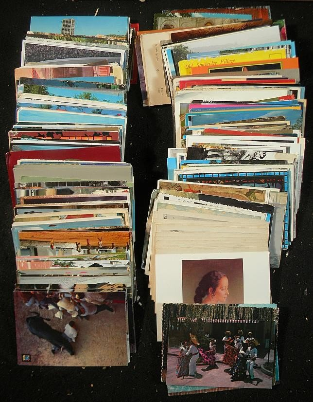 65: Lot of Misc. Postcards Chromos and others