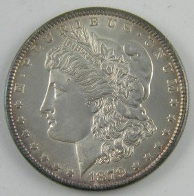 1879 S Morgan Silver Dollar Uncirculated