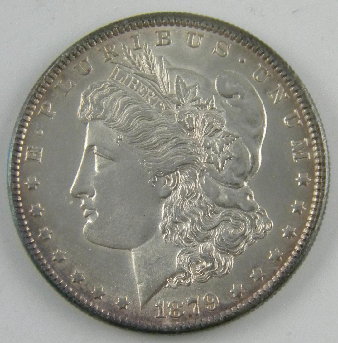 8G: 1879 S Morgan Silver Dollar Uncirculated