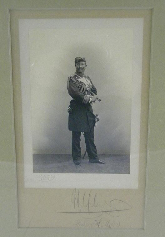 299: Signed Photograph & Document KAISER WILHELM 1894 - 3