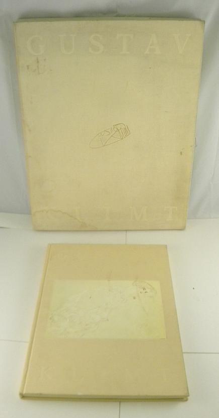 34C: GUSTAV KLIMT EROTIC DRAWINGS w/ Box 35 Plates