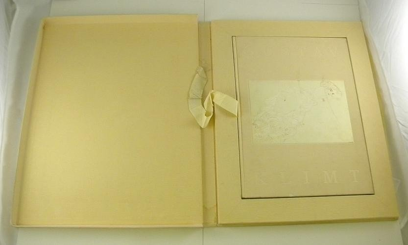 34C: GUSTAV KLIMT EROTIC DRAWINGS w/ Box 35 Plates - 2