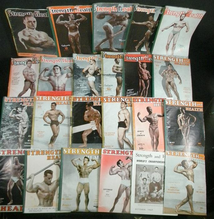4: (51) 1946, 47, 48 & 49 STRENGTH & HEALTH Magazines