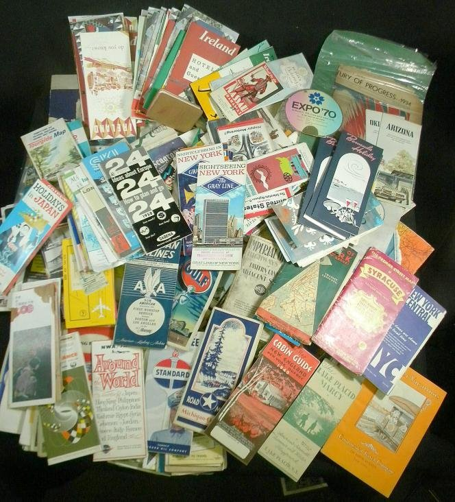 8: Big Lot Older Travel Brochures and Booklets Mostly U