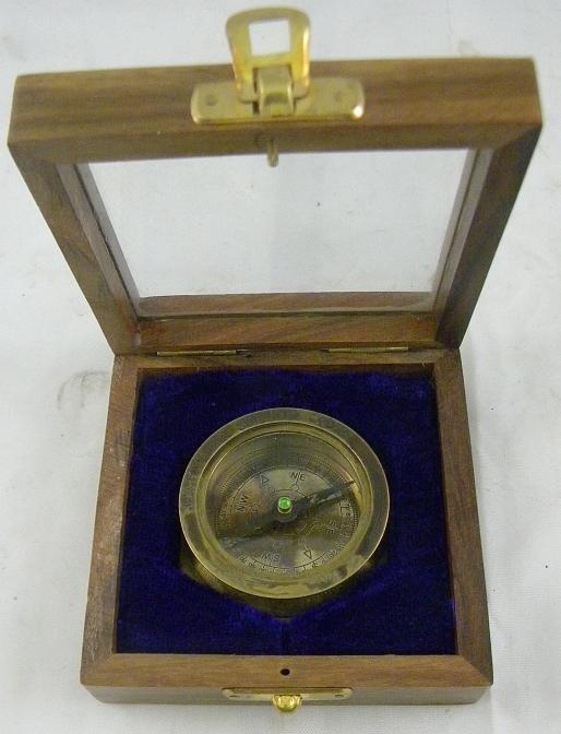 3F: Henry Hughes Son Ltd. 1941 Royal Navy Compass In Ca