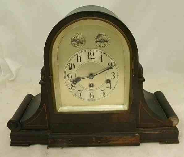 Antique JUNGHANS Westminster Chime Large MANTLE CLOCK