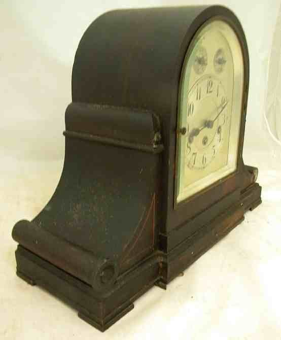 Antique JUNGHANS Westminster Chime Large MANTLE CLOCK - 3