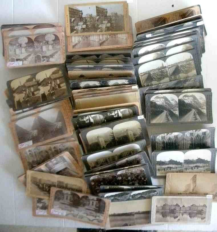 87 Scandinavian Stereoview Cards All Real Photo