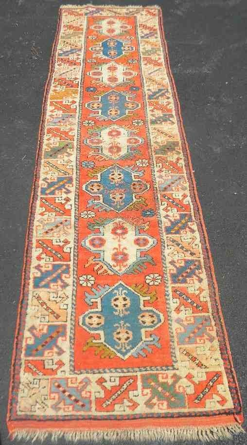 Old Estate Oriental Runner Vivid Colors & Pattern