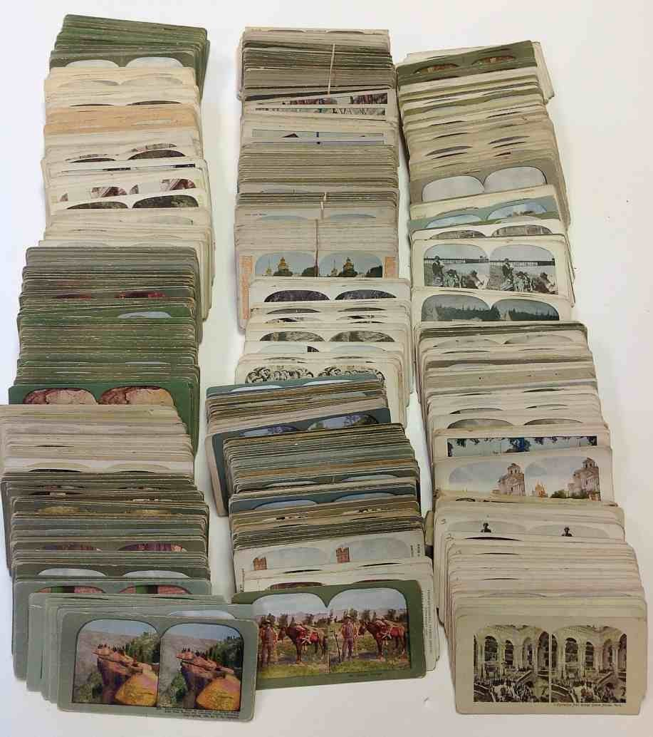1600 Litho STEREO CARDS