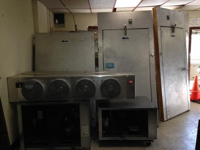 "Bally Walk in Combo Cooler Freezer 24 1/2"" x 10' x 8'6"""