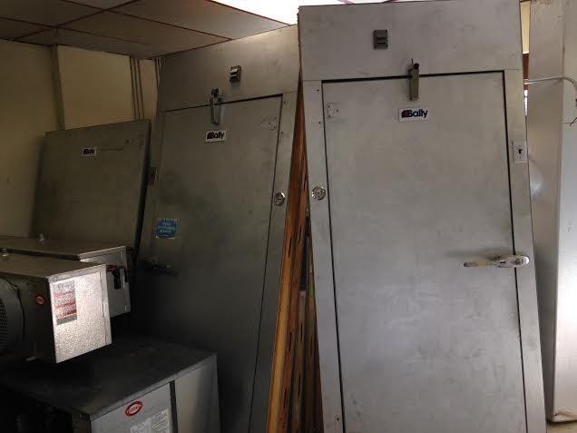 "Bally Walk in Combo Cooler Freezer 24 1/2"" x 10' x 8'6"" - 3"
