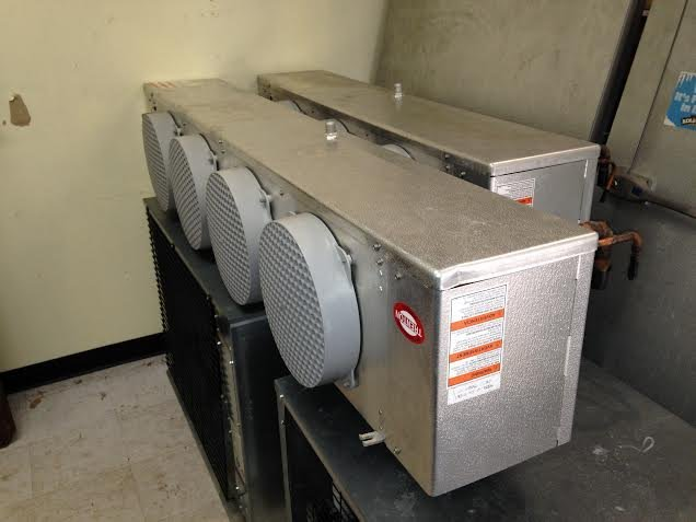 "Bally Walk in Combo Cooler Freezer 24 1/2"" x 10' x 8'6"" - 4"