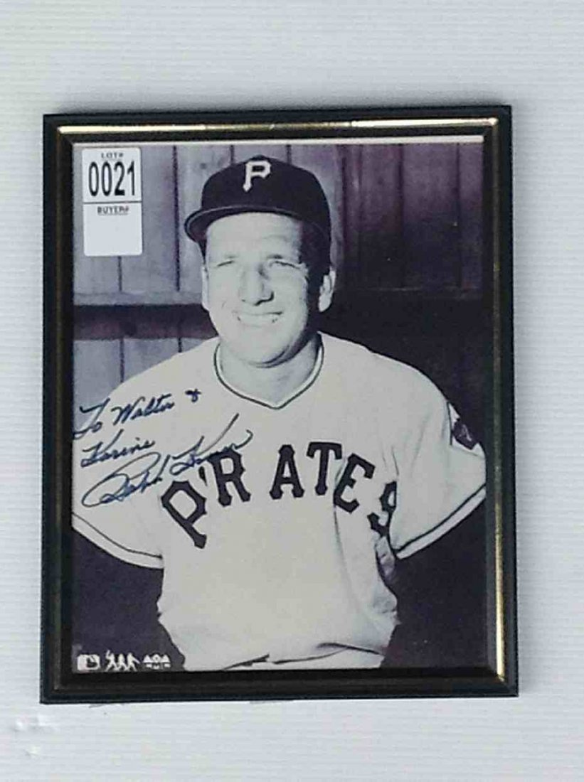 RALPH KINER SIGNED PHOTOGRAPH TO WALTER & KARINE RICH,