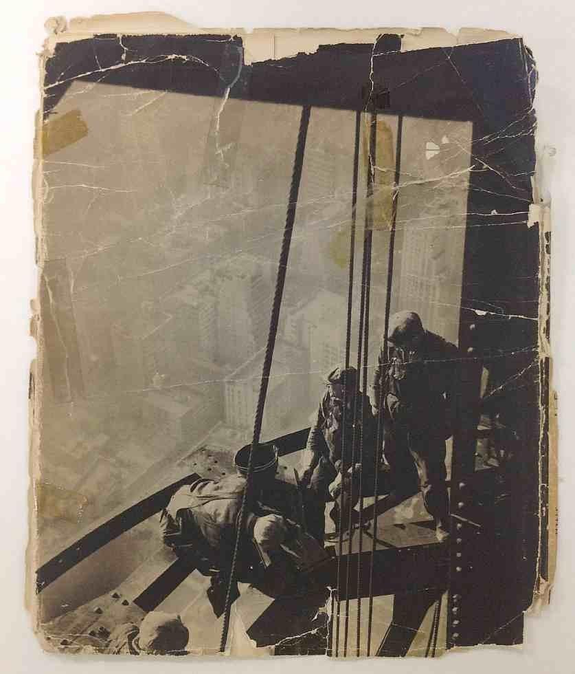 LEWIS W HINE MEN AT WORK 1932, MACMILLAN & CO., 1ST - 2