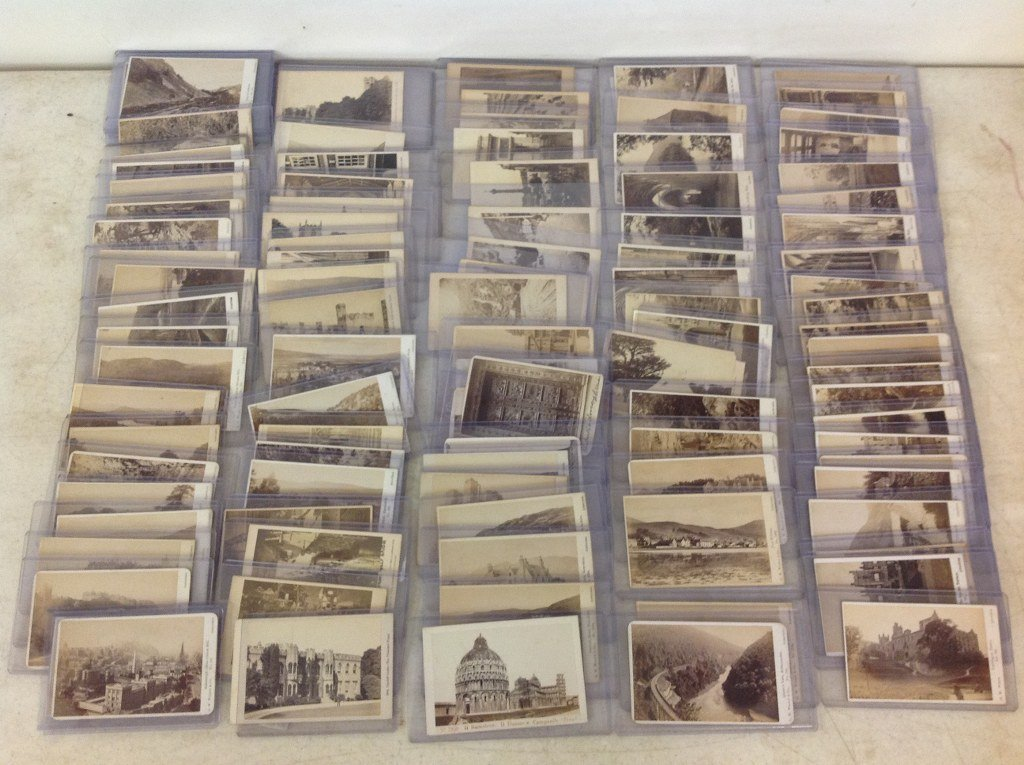 LOT OF 106 ENGLISH AND EUROPEAN CDV'S, 71 BY