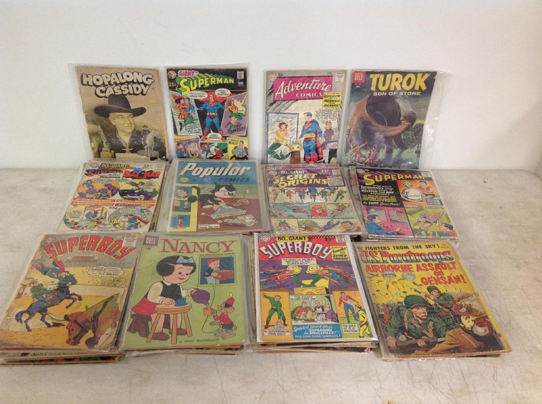 (83) 1950'S COMIC BOOKS FROM LOCAL ESTATE, MIXED LOT,