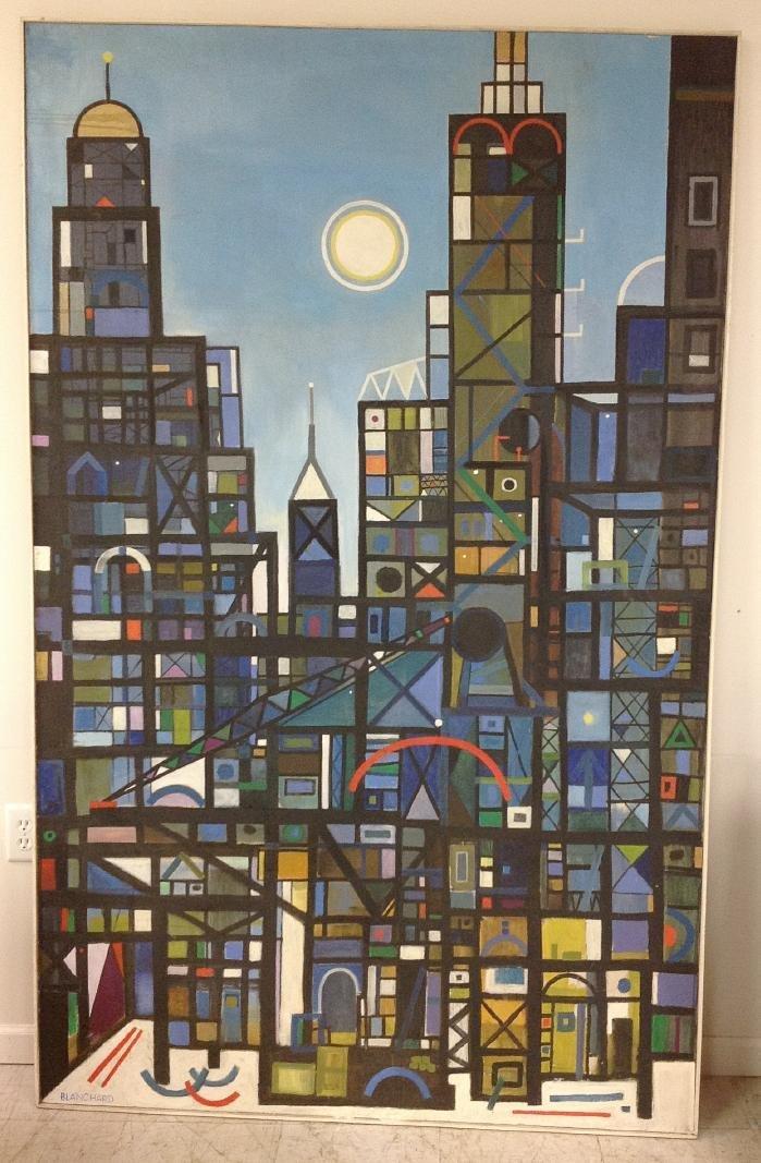 ROBERT BLANCHARD O/C NEW YORK CITY SKYLINE WITH
