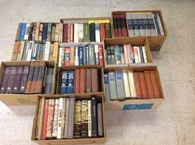 11 Boxes Of Civil War Related Books, Some Paperbacks,