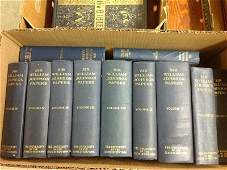 LOT OF VOLUMES OF SIR WILLIAM JOHNSON PAPERS. VOLUMES