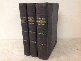 3 Vol. Set Binghamton And Broome County, New York A