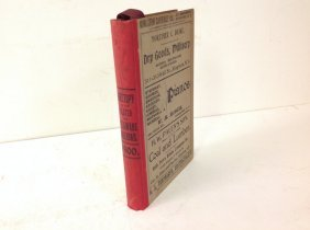 Ulster & Delaware Railroad 1900 Directory In Excellent