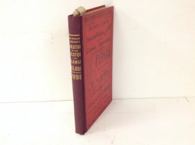 Ulster & Delaware Railroad 1898 Directory In Excellent