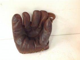 Ken Wel #564 Harry Gumbert Early Baseball Glove. From