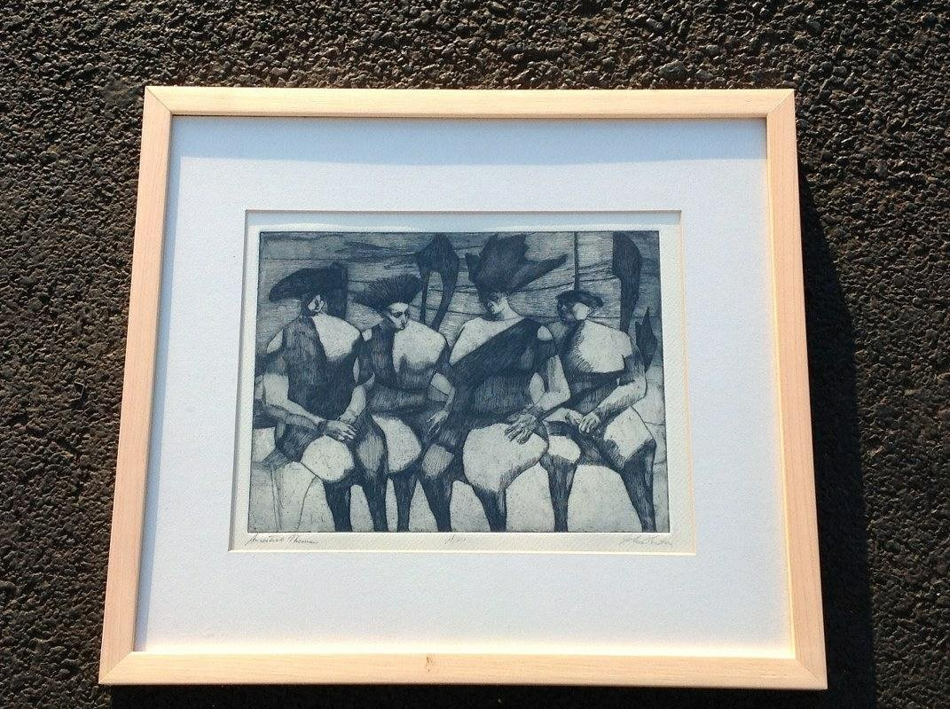 JOHN FENTON SIGNED PRINT, ARTIST PROOF,