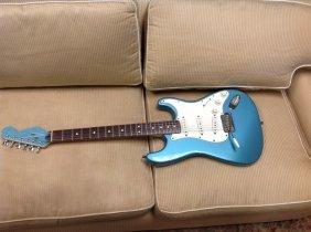 1990's Fender Stratocaster Guitar, Made In Usa, Ser #