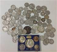MIXED UNITED  STATES SILVER COIN LOT  40 NICKELS